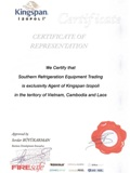 Certificate Representation Exclusivity Agent of Izopoli